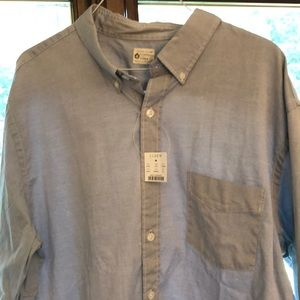 JCrew Men's Pinpoint Oxford Shirt XL